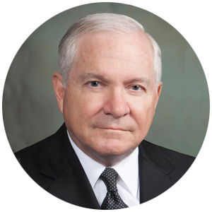 Robert Gates headshot